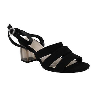 Bar III Womens Rae Open Toe Ankle Strap Platform Pumps