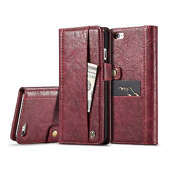 CaseMe para iPhone 6&6S Crazy Horse Texture Leather Case