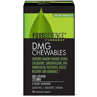FoodScience, DMG Chewables, 250 mg, 90 Chewable Tablets