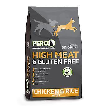 Poulet et riz Pero High Meat - 2kg
