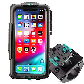Waterproof tough case & strong secure bike handlebar mounting kit apple iphone 11 pro max