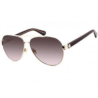 Sonnenbrille Damen  Genf   gold/braun