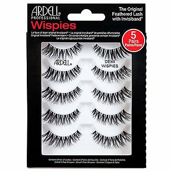 Ardell Wispies Lightweight Lashes Multipack - Demi Wispies Eyelashes - 5 Pairs
