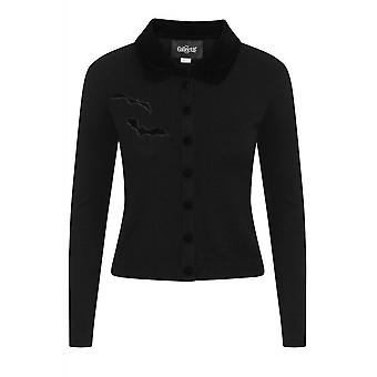 Collectif Clothing Millicent Bats Cardigan