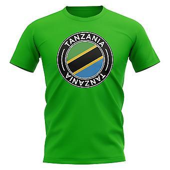 T-shirt t-shirt t-shirt t-shirt t-shirt t-shirt t-shirt de football tanzanien (vert)