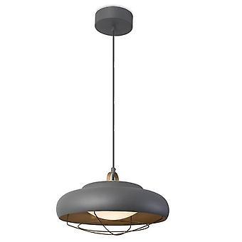 Leds-C4 Sukker - Integreret LED Dome Loft Vedhæng Lys Guld, Grå