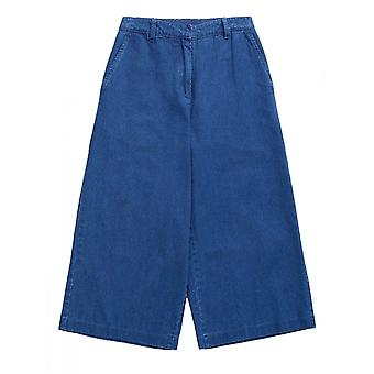 Seasalt Granite House Culottes (indigo Wash)