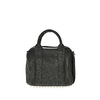 Alexander Wang Ezgl029008 Kvinder's sort læder håndtaske