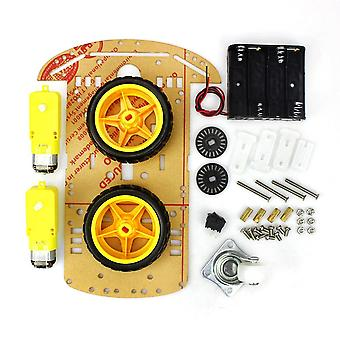 Cheap 2/4wd Robot Smart Car Chassis Kits With Speed Encoder For Arduino 51- Diy Education For Student