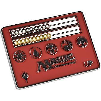 Compteur de vie MTG Card Size Abacus - Rouge