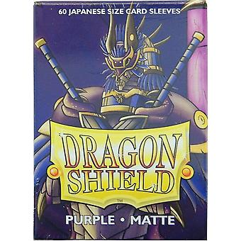 Dragon Shield Japanese Size Sleeves 60ct Matte Purple (Pack of 10)