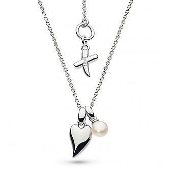 Kit Heath Desire Kiss Crush mini hjerte ferskvann perle dråpe 17 halskjede 90PJFP028