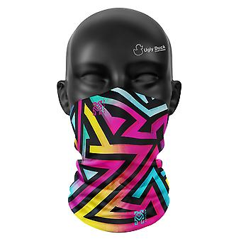 Aztec Ombre Colours Snood Face Mask Scarf Neckerchief Head Covering Tube Buff