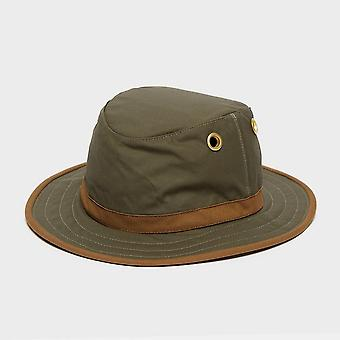 New Tilley Unisex TWC7 Outback Waxed Cotton Hat Khaki