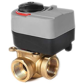 Quality 220v Electric T-valve, With  Three-way