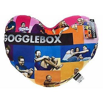 Gogglebox Unisex Adult Heart Cushion