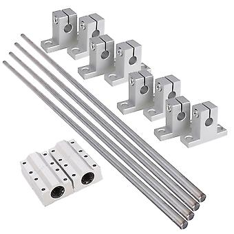 Metal Linear Optical Axis Slider Set 8mm Diameter linear Optical Axis