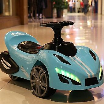 Children's Car Scooter Four-wheel Electric Car With Light & Music For Kids/ Baby