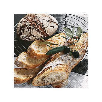 Topi Napkins Fresh Bread x 20 LN0665