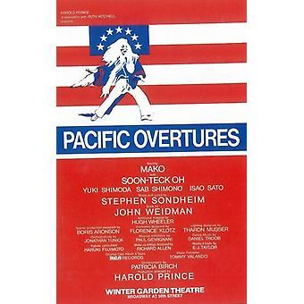 Oberturas Pacífico (Broadway) Movie Poster (11 x 17)