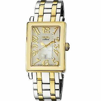 Gevril Women's 9544YB Avenue of America MOP Dial Kaksisävyinen ruostumattomasta teräksestä valmistettu kello