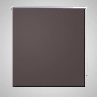 Blackout roller blind 80 x 175 cm coffee