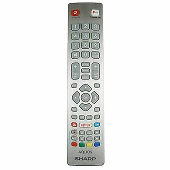 Oryginalny SHW /RMC/0121 Do ostrego aquos HD LED TV Remote Control Freeview Play