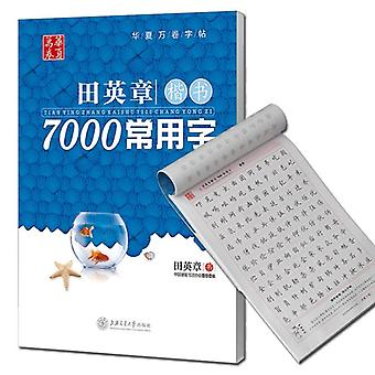 7000 Common Chinese Characters Copybook Adult Writing Books