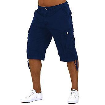 Mare de di frutti aux Capri hommes Jeans bermudas Cargo Shorts Short avec ceinture