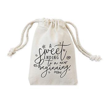 Cotton Canvas Wedding Favor Bags