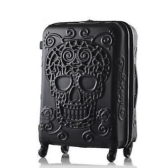 גולגולת מזוודות המותג המפורסם נסיעות מזוודה / מקורי 3D מטען נסיעות,
