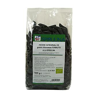 Wholemeal specialty of kamut with spirulina - penne 500 g