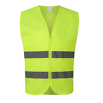 YANGFAN Men's Reflective V-neck Vest