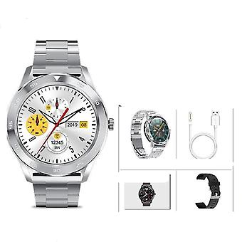 Waterproof Smart Watch - Full Round Hd Screen, Ecg Detection And Changeable
