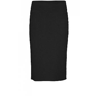 Masai Clothing Sue Black Fitted Skirt