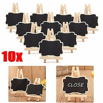 Mini Wooden Blackboard, Chalkboard Stand Wedding Party Table Decor