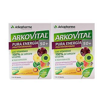 Arkovital Pure Energy Senior +50 120 kapslar