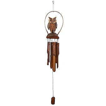 Something Different Owl Windchime