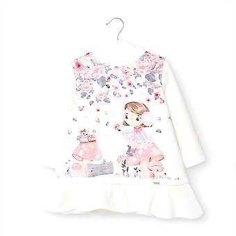 Mayoral baby girls floral design dress 2969/95