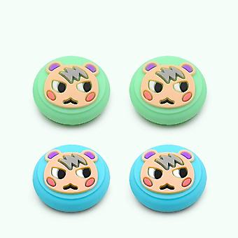 Animal Crossing Marshal Gaming Rubber Thumb Stick Grip Cover For Switch Lite