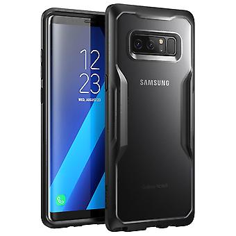 SUPCASE Galaxy Note 8 Kotelo Yksisarvinen Kuoriainen Hybridi Suojakotelo Musta/Musta