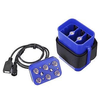 8.4V 6X 18650 wasserdichte Batterie Pack Fall Haus Abdeckung für Fahrrad Fahrrad Lampe DMG