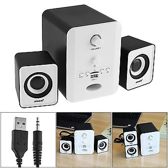 Mini Stereo Combination Portable Column Subwoofer Computer Loudspeaker
