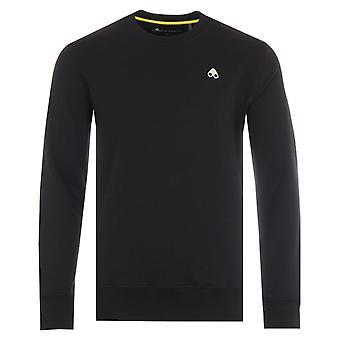 Moose Knuckles Greyfield Cotton Crew Neck Sweatshirt - Black
