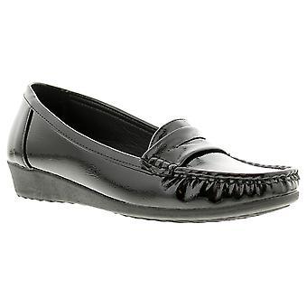 Dr Keller dr edith con womens ladies wedge shoes black UK Size