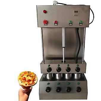 New Pizza Cone Machine 4 Cone Pizza Making Machine