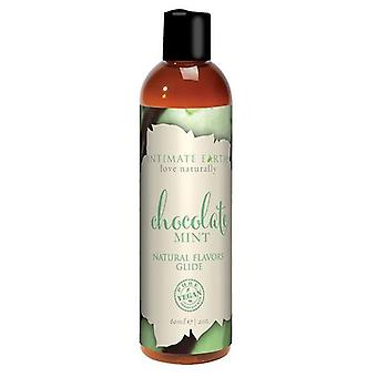 Intimate Earth Chocolate Flavored Lubricant with Mint 60 ml 06950