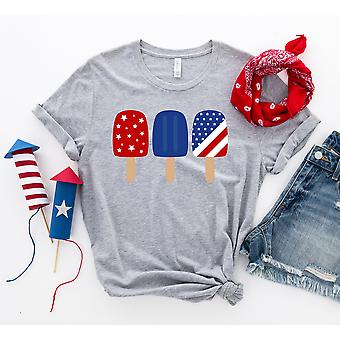 4th Of July Popsicles T-shirt