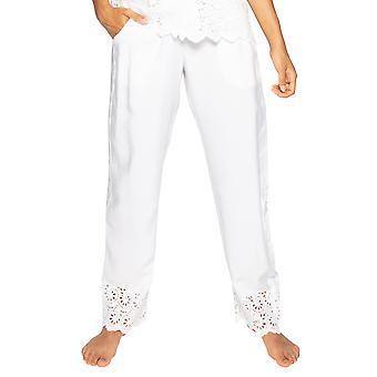 Cyberjammies Leah 4836 Kvinnor & Vita Broderade Pyjamas Byxa