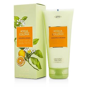 4711 Acqua Colonia Mandarine & kardemumma Moisturizing bodylotion 200ml/6.8 oz